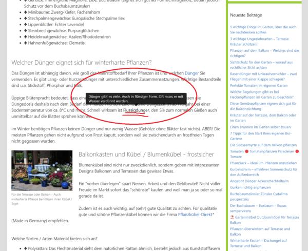 Lexikon Tooltipp Screenshot